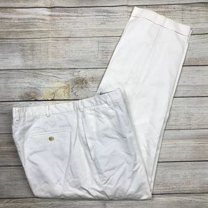 PETER MILLAR soft touch twill pant white 42/30